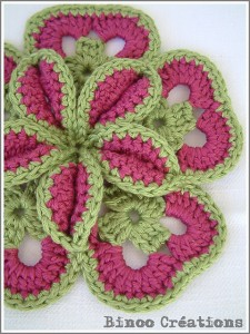 Starburst Hot Pad Pattern - make your kitchen a work of art! #crochet potholders