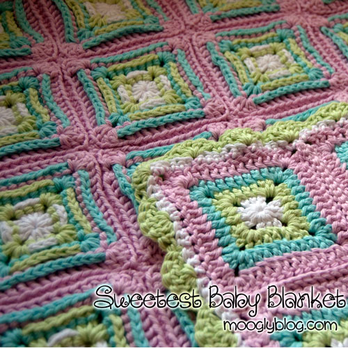 97212fd6e9bc Free Pattern  Sweetest Baby Blanket