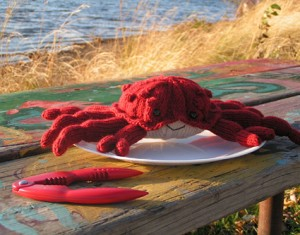 The Deadliest Crab - free amigurumi patterns #knitting
