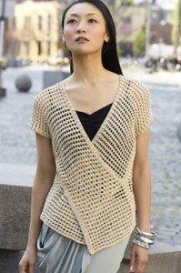 Tokyo Vest - by Doris Chan! Tunisian Crochet