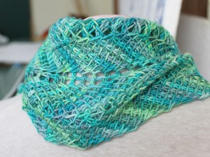 Tunisian Ripple Scarf - gotta learn Tunisian Crochet so I can make this!