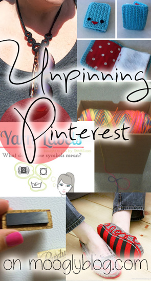 Unpinning Pinterest for February 2013 - the very best of Pinterest according to Moogly! Come see what you might have missed and pin pin pin! #crochet #crafts