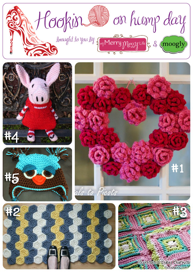 Hookin On Hump Day Link Party For the Fiber Arts - Features