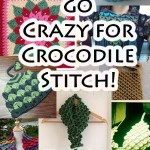 Crazy for Free Crocodile Stitch Crochet Patterns!
