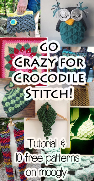 Go Crazy For Free Crocodile Stitch Crochet Patterns