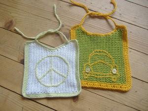 Baby Bib from Abbedidd - free #crochet patterns