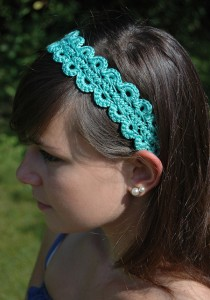 Calypso Hairband Headband - free #crochet pattern