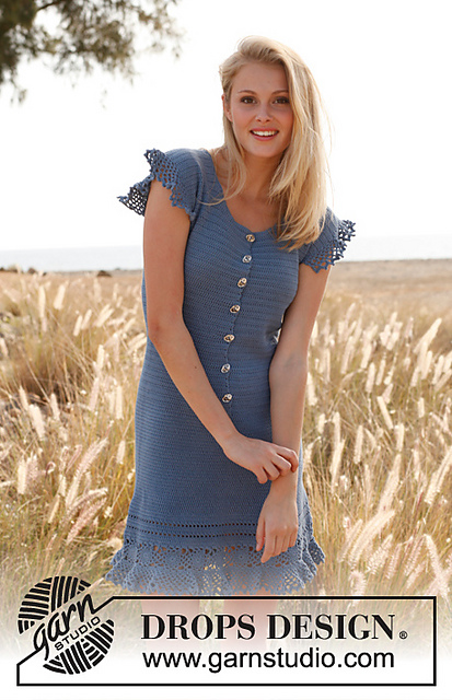 10 Unique And Free Crochet Dress Patterns For Women All Beautiful
