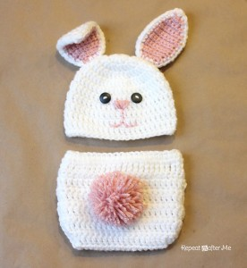 Crochet Bunny Hat Pattern - free!