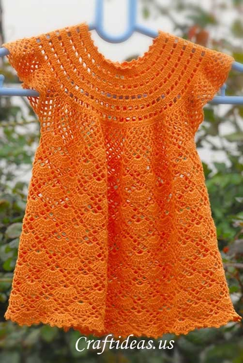 Crochet Patterns Little Girl Dresses : ... - Roundup of 12 Gorgeous and FREE Crochet Dress Patterns for Girls