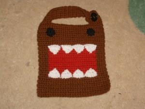 Domo-kun Bib - Free #crochet baby bib pattern!