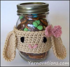Easter Bunny Rabbit Gift Idea - free #crochet bunny pattern