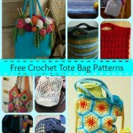 Carry It All with 10 Free Crochet Tote Bag Patterns!