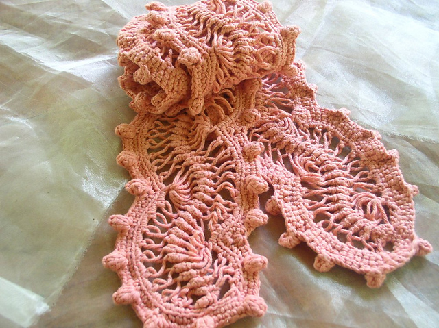 Knitting Hairpin Lace Pattern : Hairpin Lace - Unique and Amazing Crochet!