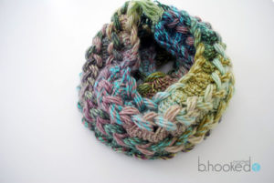 Hairpin Lace Infinity Scarf by B Hooked Crochet