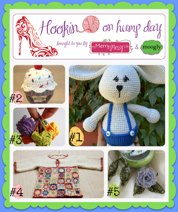 Hookin On Hump Day #37 - Link Party for the fiber arts! Check out the amazing featured posts, and link up your own this week!