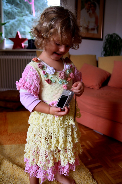 Sweet And Swirly 12 Free Crochet Dress Patterns For Girls