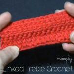 Linked Treble Crochet Stitch (LTR)
