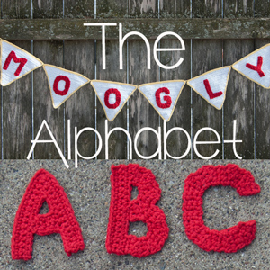 The Moogly Crochet Alphabet - Say It With Free Crochet Letter Patterns!