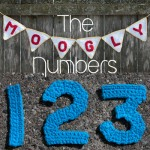 Moogly Crochet Number Set - free patterns for 0-9! #crochet