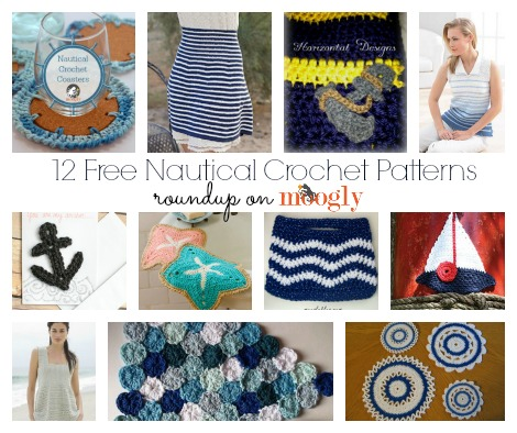Crochet Patterns Nautical : Ahoy! Drop Anchor for Nautical Crochet Patterns! - moogly