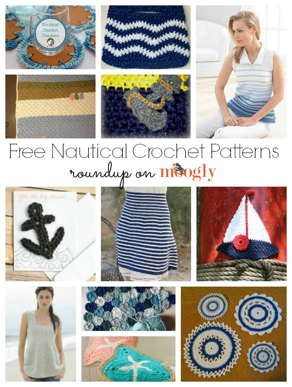 10 12 Free Nautical Crochet Patterns (includes new patterns for 2014!)
