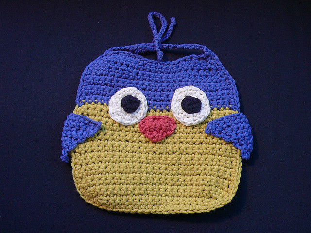 Crochet Baby Bibs Free Patterns images