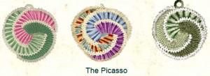 Picasso Potholder Pattern - free #crochet pattern found on Unpinning Pinterest