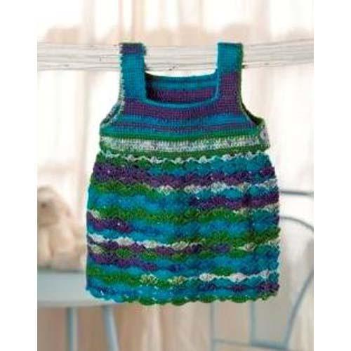 Crochet Pattern For Baby Summer Dress : Sweet and Swirly: 12 Free Crochet Dress Patterns for Girls