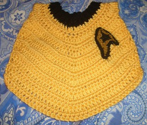 Star Trek Baby Bib - free #crochet pattern!