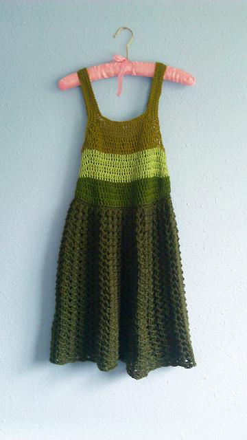 Crochet women dresses patterns summer