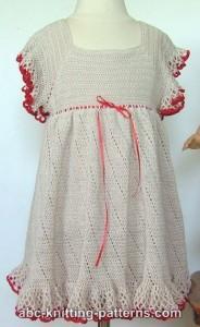 free crochet dress patterns for girls
