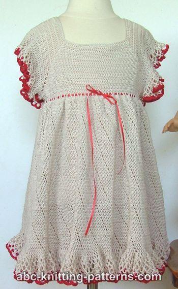 sweet and swirly 12 free crochet dress patterns for girls