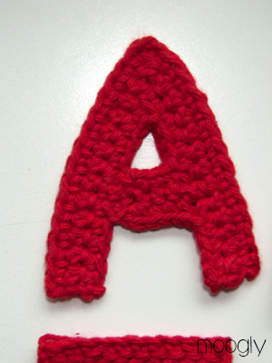 Crochet Letters : ... The Yarn Box Crochet Alphabet Party - Free Crochet Alphabet Pattern