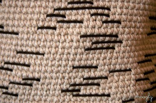 Birch Bark Basket - crochet inspired by nature! Free pattern on Moogly :)