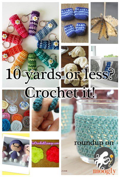 Crochet Stitches Using Less Yarn : of yarn left over from your latest project? Here are 10 free patterns ...