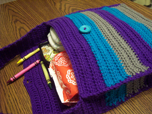 A Mother's Purse - great free crochet pattern for Mother's Day!