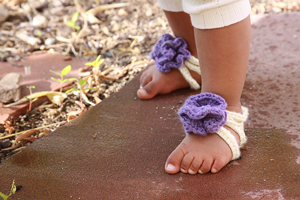 Baby Barefoot Strappy Sandals
