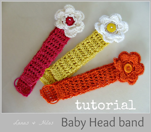 Baby Headband Tutorial - brilliant use of elastic!