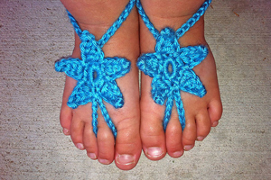 Crochet Barefoot Sandals For Summer 10 Free Patterns