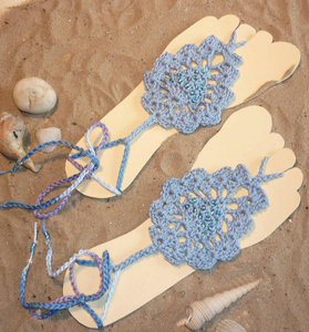 Free Crochet Sandal and Flip Flop Patterns