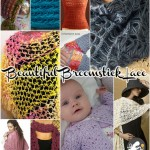 Beautiful Broomstick Lace: 10 Free Patterns Using a Needle and Hook!