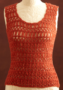 Broomstick Lace Crochet Shell - free pattern featuring Broomstick Lace Crochet!