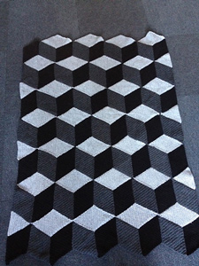 Diamond Blanket - Interesting and Unusual Crochet Afghans!