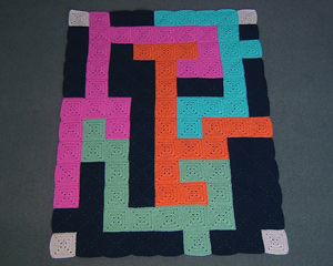 Flatland Lock Interesting and Unusual Crochet Afghans!