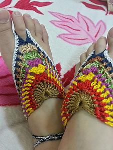 GBS - Granny Barefoot Sandals