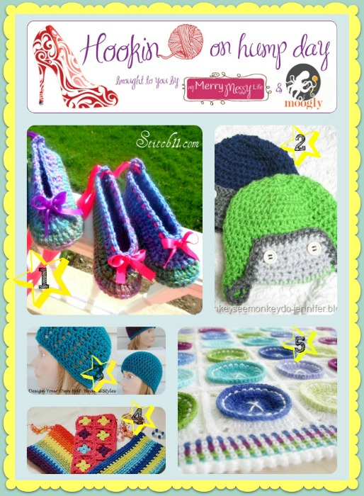 Hookin On Hump Day #43 - Link Party for the Fiber Arts! Amazing projects from all over the web, including free patterns and tutorials! Check it out!