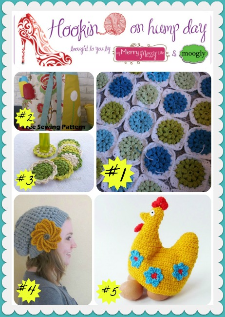 Hookin On Hump Day #39 - Link Party for the Fiber Arts!