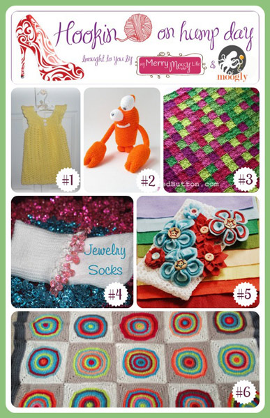 Hookin On Hump Day #41 - the best creative fiber arts posts from around the web! Check them out and then add your own to this fantastic link party!