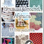 Interesting and Unusual Crochet Afghan Patterns